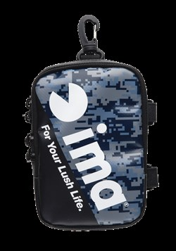 *IMA DOUBLE POCKET POUCH NAVY DIGITAL CAMO